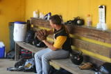nick in the dugout