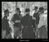 Civil War Reenactment BW.jpg
