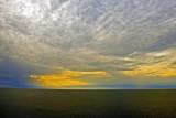 A cloudy nightfall...