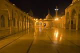 Mosque courtyard...