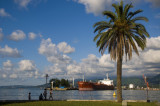 Batumi harbour...