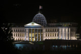 Presidential Palace at night...