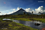 Mayon in a rural setting