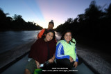 Sunrise with me and Rein in Agusan Marsh