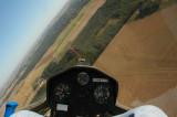 flying like a big bird...