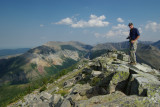 Ascent to Vimy in Waterton 2009