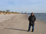 Richard at Plum Beach (part of the Gateway National Recreation Area) on the southern coast of Brooklyn.