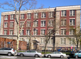 P.S 139, Richard's elementary school, as seen from Cortelyou Road - looking north