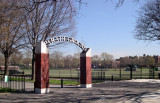 The Parade Grounds: Current view as seen from Caton Avenue looking northeast - just south of Prospect Park