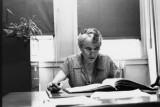 Margaret Cameron - Richard's advisor at Erasmus Hall High School - she was a very warm person (1959)