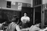 Grace Denman - Richard's literature class at Erasmus Hall High School (1958)