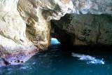 A sea grotto at Rosh Hanikra - at the Lebanese border.