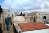 Jerusalem: The wall surrounding the Christian Quarter of the Old City.