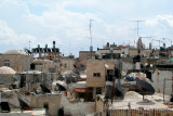 Jerusalem: Rooftops in the Christian Quarter of the Old City.