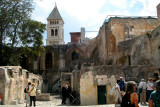 Jerusalem: The Old City – Courtyard leading to the Church of the Holy Sepulcher.