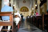 Nazareth: Church of St. Joseph - the main worship area of the church