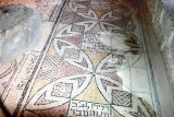 Zippori: Mosaics on the floor of a synagogue built in the 5th century c.e. seen in previous photos.