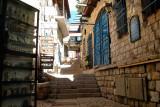 The Artists' Quarter in Tzfat.