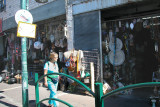 Orna in Daliat-El-Carmel on Mt. Carmel - a Druze (Arab) village. We shopped at the busy market here.