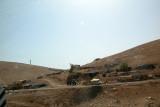 A Bedouin settlement in the mountainous desert in Judea, south of Jerusalem.