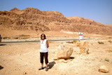Judy - we stopped to admire the beautiful cliff formations while traveling south to Masada in the Judean Desert.