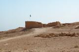 Top of Masada: The residence of King Herod's family (1st century b.c.e.).