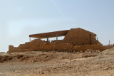 Top of Masada: This structure probably was part of King Herod's Western Palace (around 30 b.c.e).