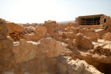 King Herod's Western Palace (30 b.c.e.) on top of Masada – the largest structure on Masada.