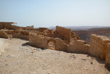 Western Gate to Masada – from the Byzantine era and built over the ruins of a gate built by King Herod.