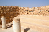 This structure on Masada was a synagogue during the Jewish revolt against the Romans (around 70 c.e.)