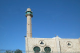 Hassan Bek Mosque & minaret - Jaffa. Built by Turks, 1916. Tied to Israeli-Palestinian conflict - site of many conflicts