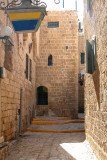 A passageway in the old section of Jaffa.