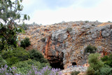 Banias: Site of artifacts of Roman temples and the Banias Spring, a source of water for the Jordan River
