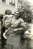Aunt Betty holding cousin Phyllis - mother's side (circa 1942)