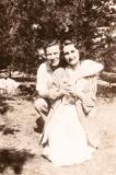 Hilda, Richard's mother, on a date (pre-Paul era :-)) 1934