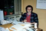 Richard at his desk at  work (1995)