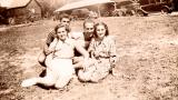 Hilda, Richard's mother (on the right), on a date with friends  (pre-Paul era :-)) 1934