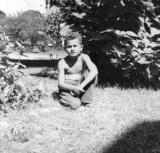 Richard at Pine Bush, New York in 1950