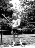Marilyn, daughter of aunt Rosie and uncle Ben (circa 1950). Marilyn is Richard's cousin - mother's side.