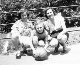 Left to right: Phyllis, Marilyn and Sylvia - Richard's cousins - mother's side (circa 1950)