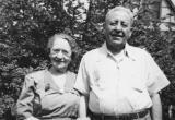 Grandma Gussie and grandpa Charles (father's side)