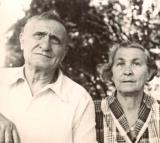 Grandma Anna and grandpa Louis - mother's side (1950's)