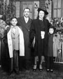 Richard's uncle Harry, aunt Adelle, & cousins Alan & Judie - father's side (late 1940's)