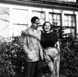 Richard's uncle Harry (father's brother) and aunt Adelle at their home in Flushing, Queens (New York).