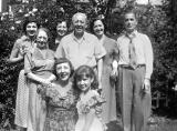 Grandma Gussie & grandpa Charles (father's side) with Richard's aunts, uncle Dave and cousin Judie