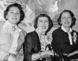 Left to right: Hilda (Richard's mother) with Rose and Peggy (father's sisters) - 1950's