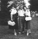 Left to right: Hilda (Richard's mother), Richard and aunt Rose (father's side) (1955)