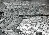 A typical summer, Sunday scene at Coney Island - having fun with over a million people :-) (1950's)