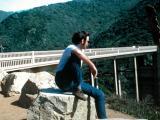 Ken on the west coast (California) visiting Richard, after Ken just returned from Vietnam (1970)