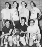 Medical school basketball team (Richard, top left) - Cambridge, MA  - we played in the Boston City League. (1966)